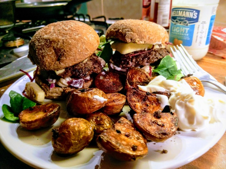 burger-pickle-relish-new-potatoes-mayonnaise-2